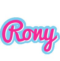 Rony popstar logo