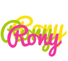 Rony sweets logo