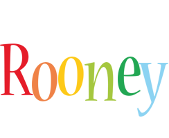 Rooney birthday logo