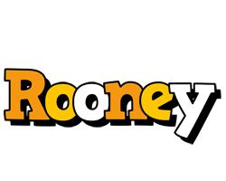 Rooney cartoon logo