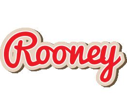 Rooney chocolate logo
