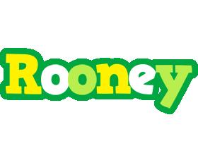 Rooney soccer logo