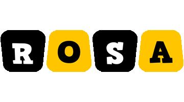Rosa boots logo