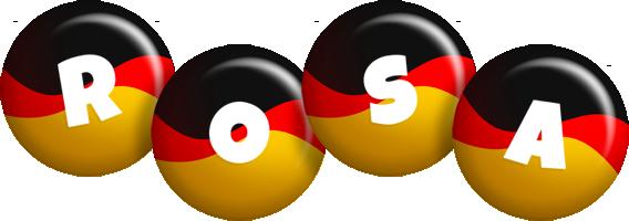 Rosa german logo