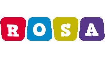 Rosa kiddo logo
