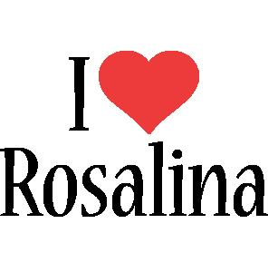 Rosalina i-love logo