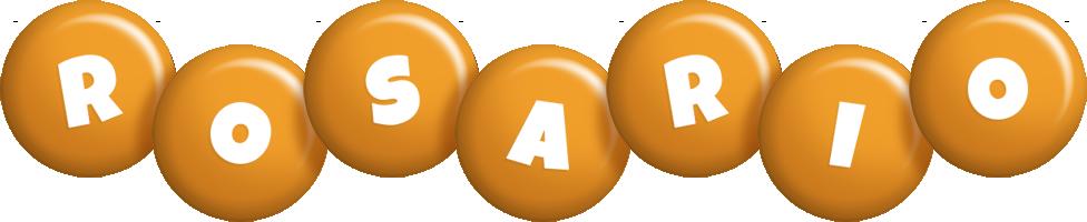 Rosario candy-orange logo