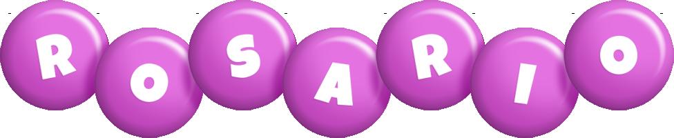 Rosario candy-purple logo