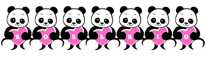 Rosario love-panda logo