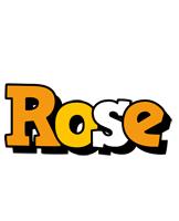Rose cartoon logo