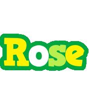 Rose soccer logo