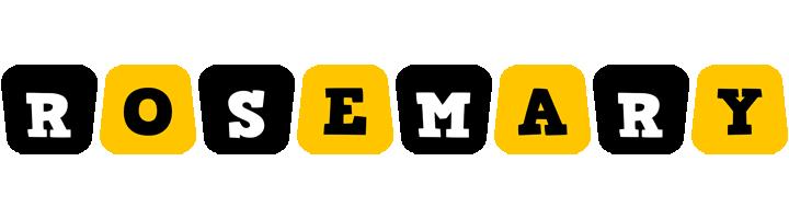 Rosemary boots logo