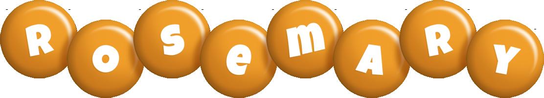 Rosemary candy-orange logo
