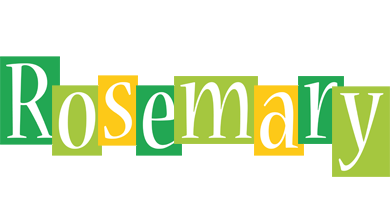 Rosemary lemonade logo