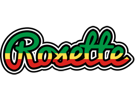 Rosette african logo
