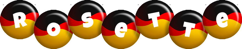 Rosette german logo