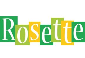 Rosette lemonade logo
