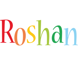 Roshan birthday logo