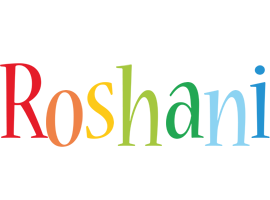 Roshani birthday logo
