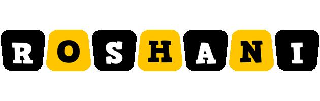 Roshani boots logo