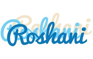 Roshani breeze logo