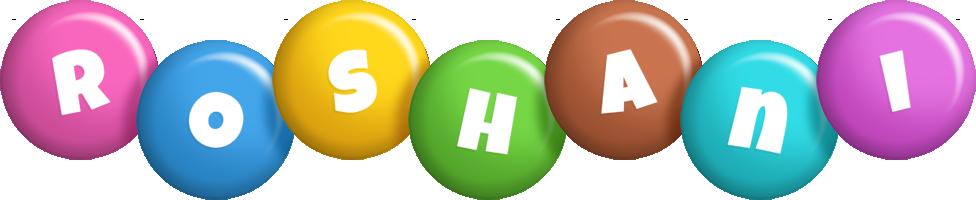 Roshani candy logo