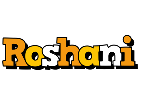 Roshani cartoon logo