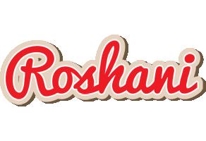 Roshani chocolate logo