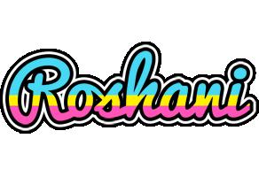 Roshani circus logo