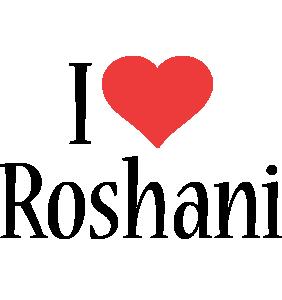 Roshani i-love logo