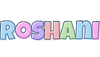 Roshani pastel logo