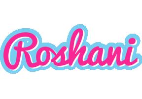 Roshani popstar logo