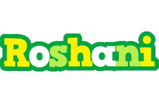 Roshani soccer logo