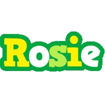 Rosie soccer logo