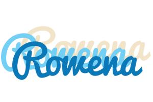Rowena breeze logo