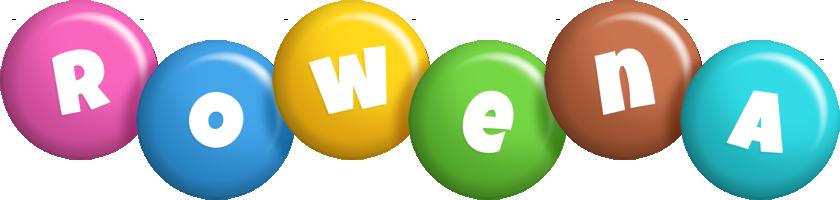 Rowena candy logo