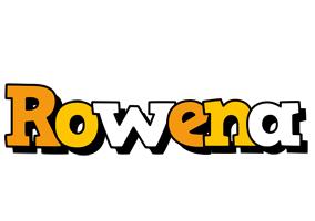 Rowena cartoon logo