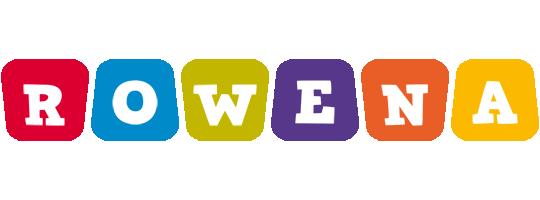 Rowena daycare logo