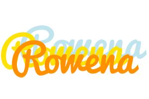 Rowena energy logo