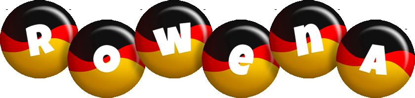 Rowena german logo