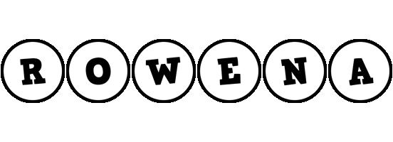 Rowena handy logo