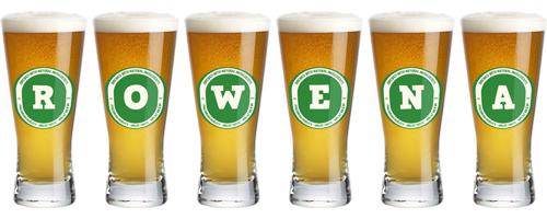 Rowena lager logo
