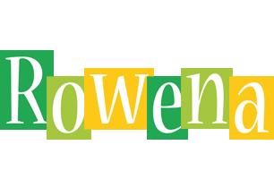 Rowena lemonade logo