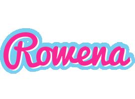Rowena popstar logo