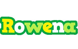 Rowena soccer logo