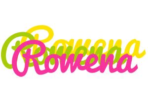 Rowena sweets logo