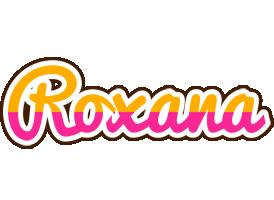Roxana smoothie logo