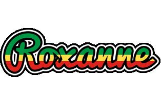 Roxanne african logo