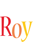 Roy birthday logo