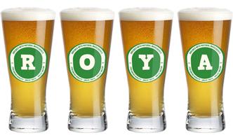 Roya lager logo